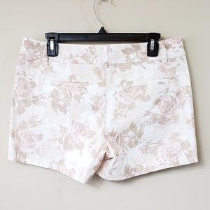 Ann Taylor Shorts - Ann Taylor Petite Floral Print Shorts